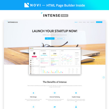 Template Software Landing Page #68446
