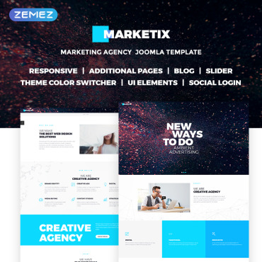 Website Template № 68555