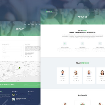 Website Template № 68558
