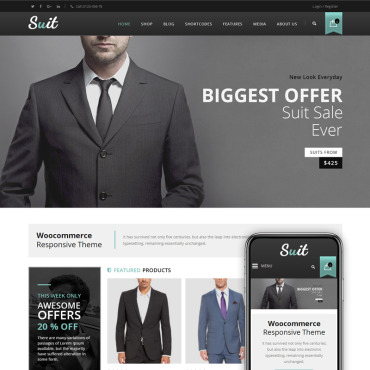 Website Template № 68566