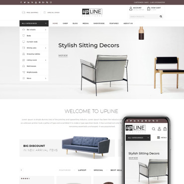 Website Template № 68573