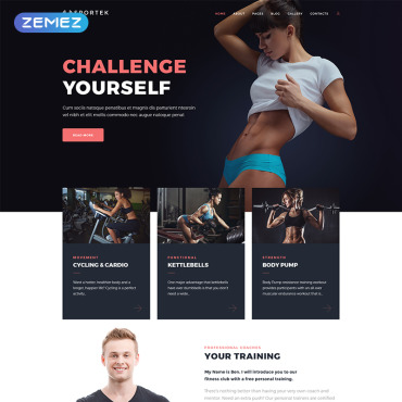 Website Template № 68669