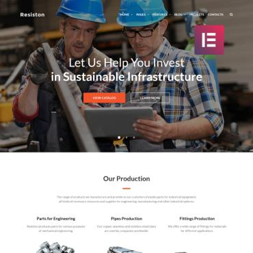 Website Template № 68707