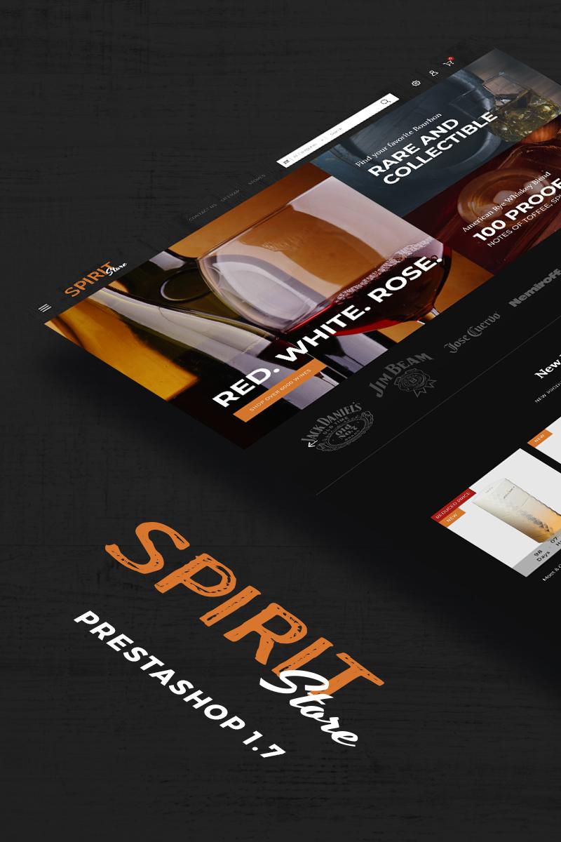 Spirit - Liquor store PrestaShop Theme