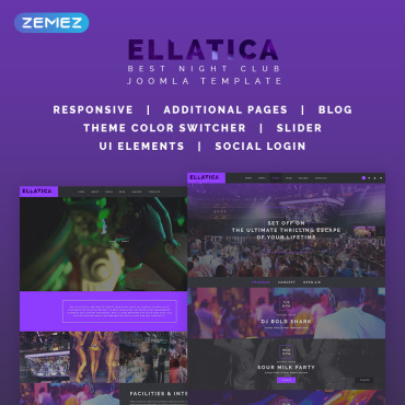 Website Template № 68763