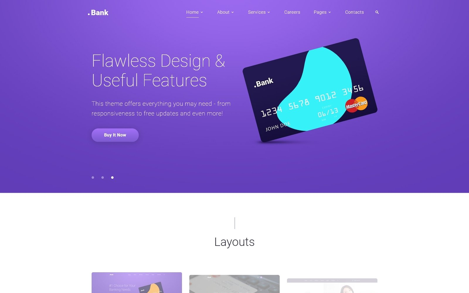 Bank Finance Banking Multipage Bootstrap 4 Website Template