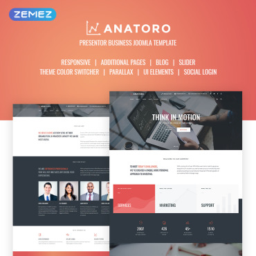 Website Template № 68827