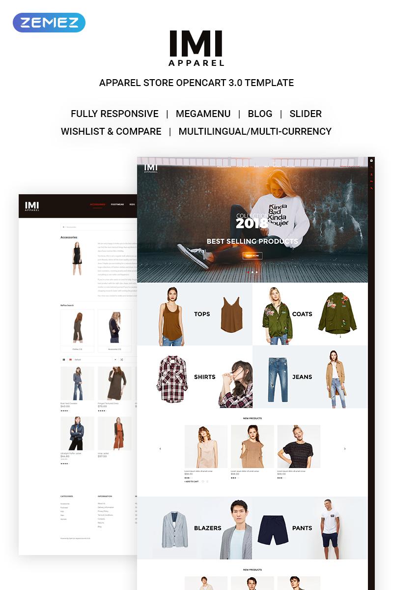 IMI - Fashion Store OpenCart Template
