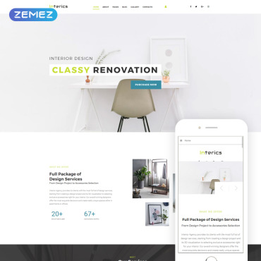 Website Template № 69128