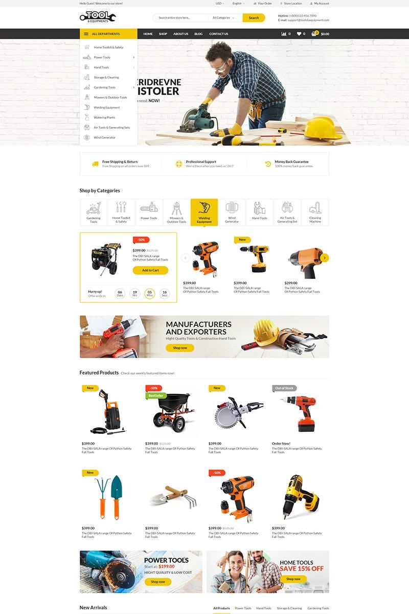 Tools WooCommerce Theme
