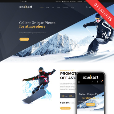 Website Template № 69229