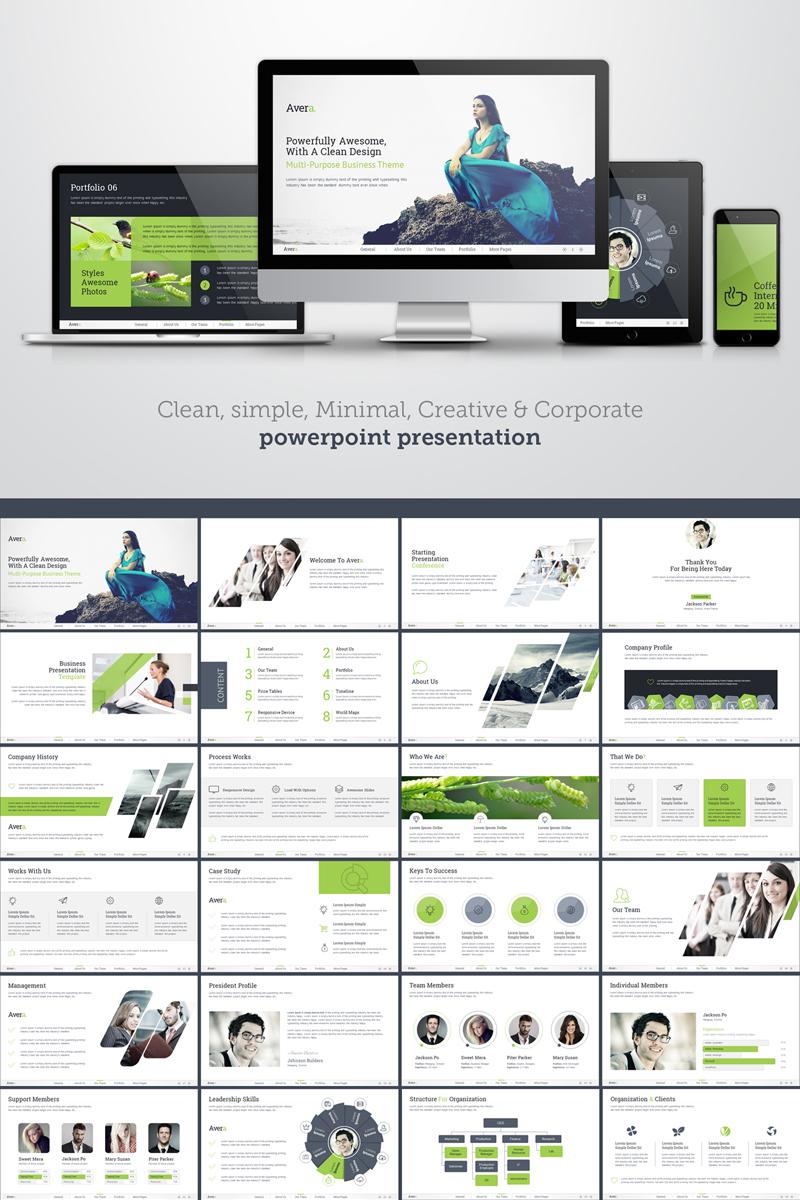 Clean, Simple, Minimal, Creative & Corporate PowerPoint Template