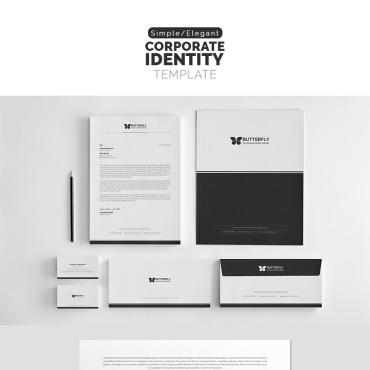 Template Identité d'entreprise #69492