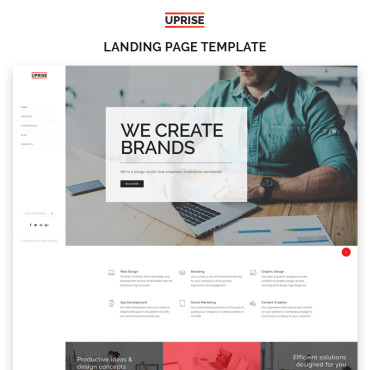 Template Software Landing Page #69537