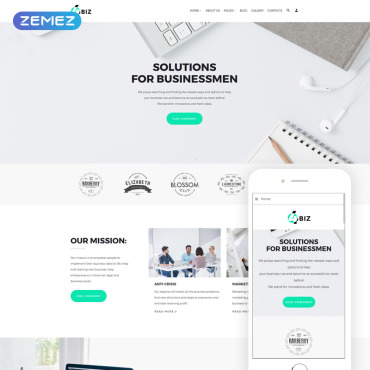 Website Template № 69600