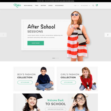 Website Template № 69686