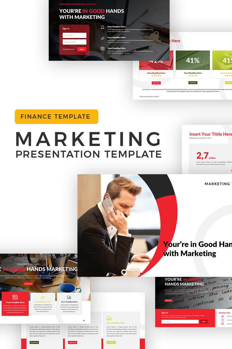 Marketing - Business PowerPoint Template
