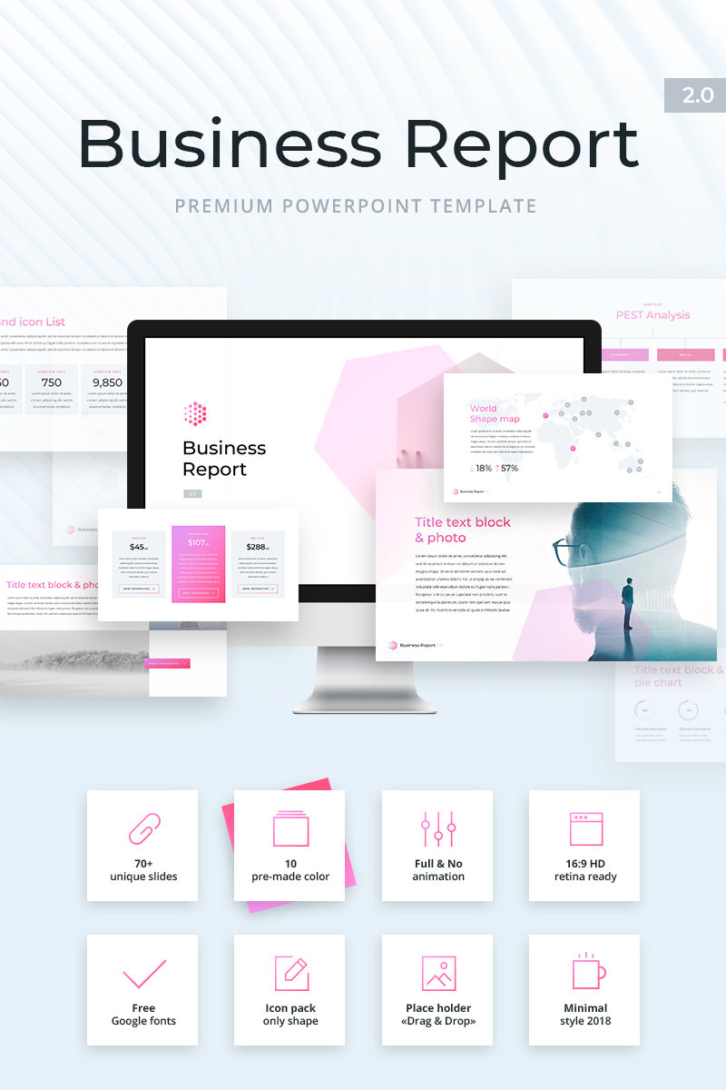Business Report  2.0 PowerPoint Template