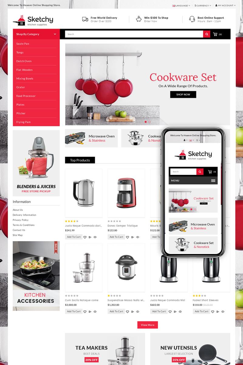 Sketchy - Multipurpose OpenCart Template