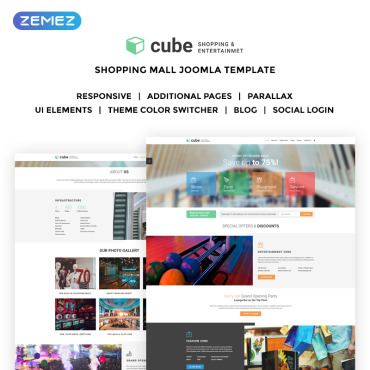 Website Template № 70058