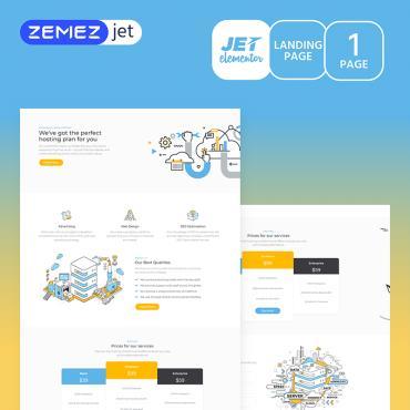 Template Software Elementor Templates #70165