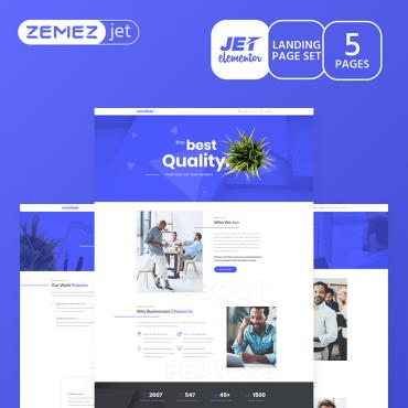 Template Afaceri Elementor Kits #70181