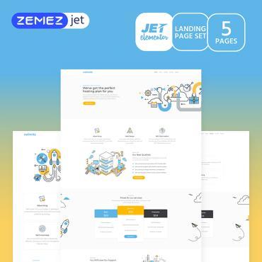 Template Software Elementor Templates #70191