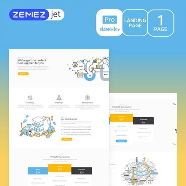 Template Software Elementor Templates #70213