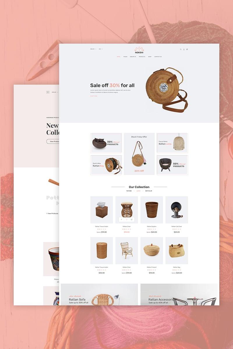 Nokshi - Handmade & Craft Shopify Theme
