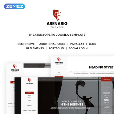 Website Template № 70284