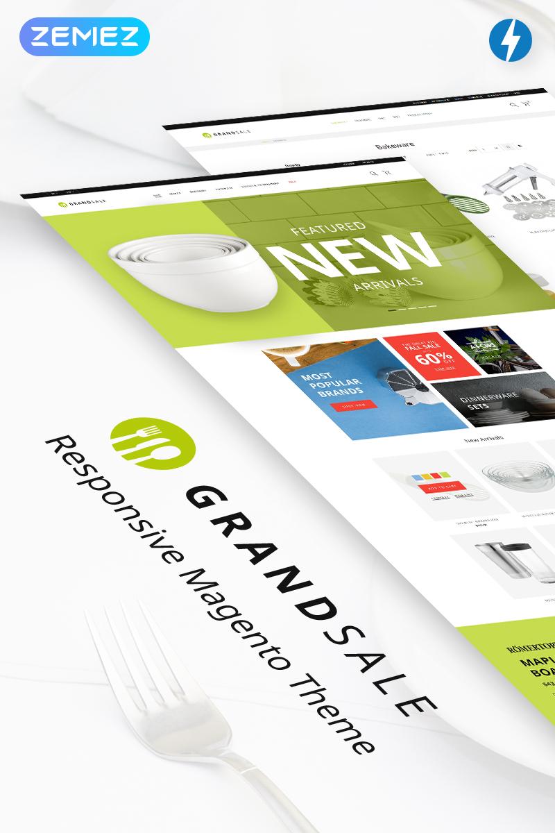 GrandSale - Kitchen Supplies Magento Theme
