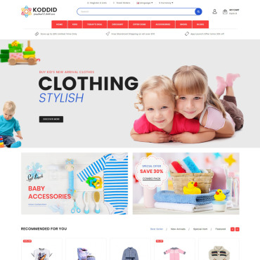 Website Template № 70426