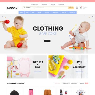 Website Template № 70531