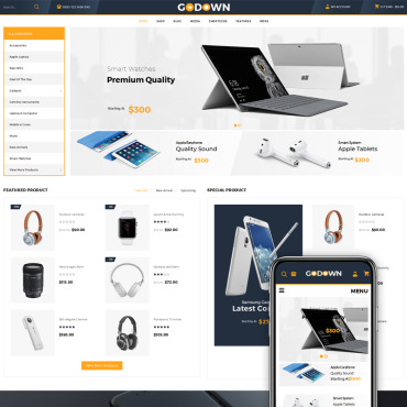 Template Electronice WooCommerce #70588