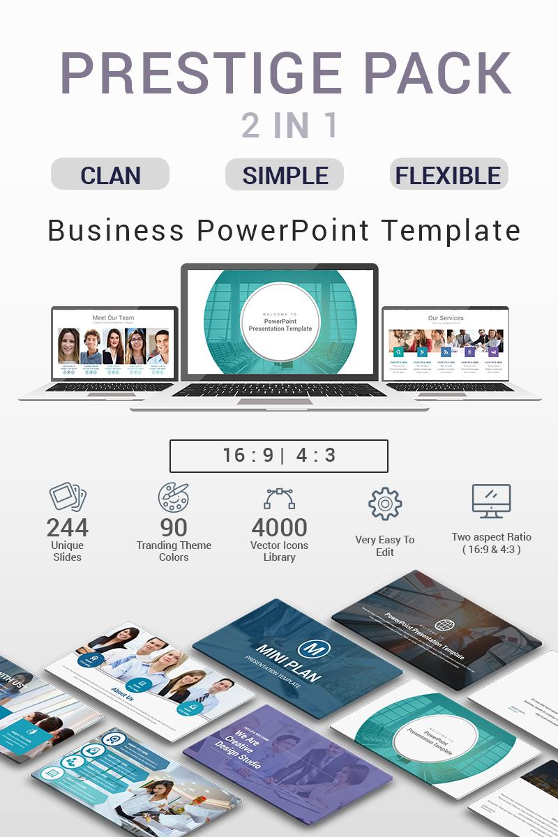 PRESTIGE PACK - 2 IN 1 PowerPoint Template