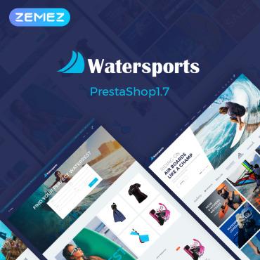Template Sport PrestaShop #70624