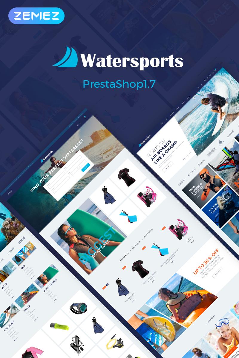 Watersports - Diving Store PrestaShop Theme