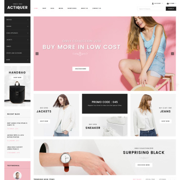 Website Template № 70626