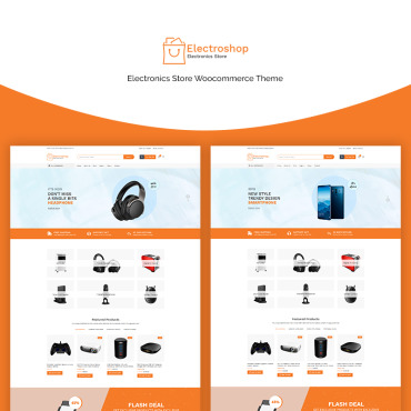 Template Electronice WooCommerce #70666