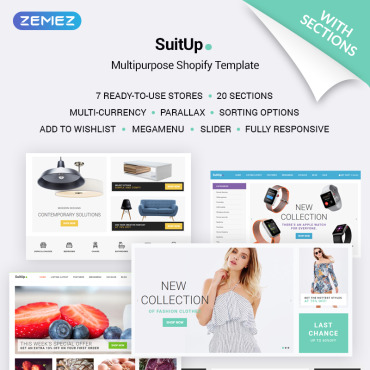 Template Modă Shopify #70679