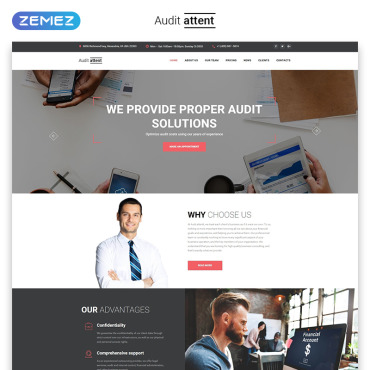 Template Transport Landing Page #70680