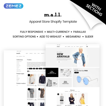 Template Modă Shopify #70688