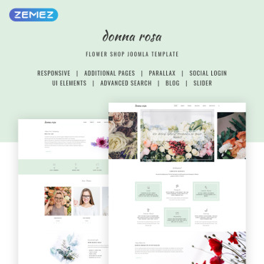 Website Template № 70690