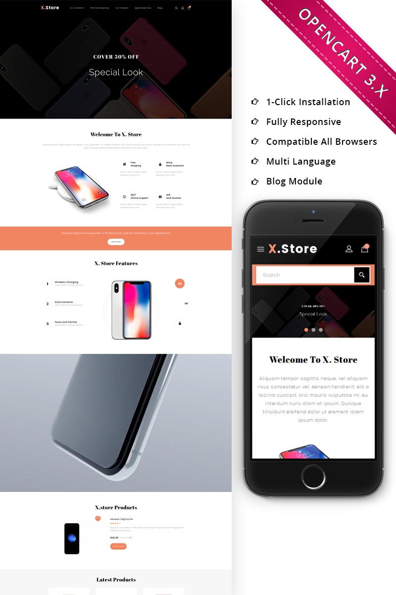 Xstore Mobile - Responsive OpenCart Template