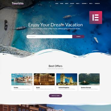 Template Turism WordPress #70827
