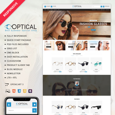 OpenCart Template #70831