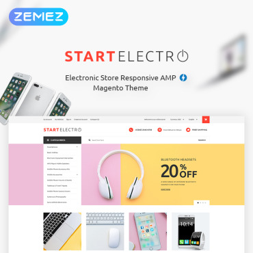 Template Electronice Magento #70832