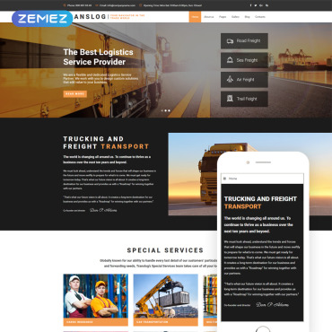 Template Transport Joomla #70922