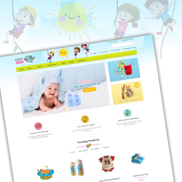 Template Familie WooCommerce #70929