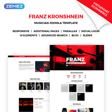 Website Template № 70965